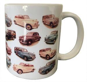 Morris Minor Multi Model - Ceramic Mug - Ideal Gift if you don't which Model?