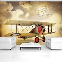 Fototapete Tapete Wandbild 15F0251560 Flugzeug