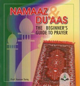 2x NAMAAZ & DUAAS the beginner's guide to prayer - Namaz Book - Prof.Naeem Tariq