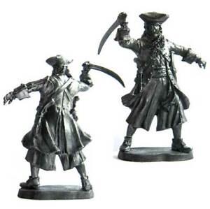 "Edward Teach ""Black Beard"", XVIII c. Tin toy soldier 54 mm. metal"