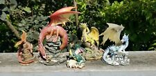 Lot of 5 Dragonsite Dragony, Land of the Dragon, WUI Dragon Figurines