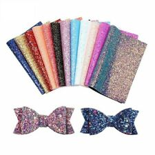 Crafts Glitter Fabric Synthetic Leather Diy Handmade Decor Garments Accessories