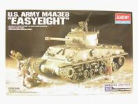 1/35 Academy US Army M4A3E8 Easy Eight Sherman Tank WW2 Plastic Scale Model Kit