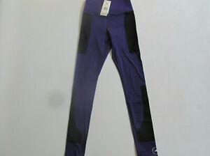 Adidas X Stella McCartney Support FU3988 woman purple tights XS S Brand New $130