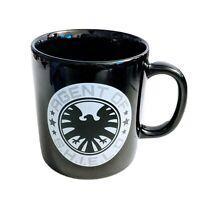 Marvel Brand Agents of Shield S.H.I.E.L.D. Logo Symbol 11 oz. Coffee Mug Black