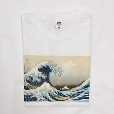 The Great Wave of Kagawa Vintage Japanese Surf T-Shirt White