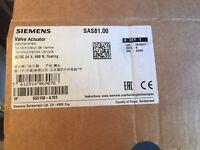 Siemens SAS81.00 - Elektromotorischer Stellantrieb, 400 N, 5,5 mm, AC/DC 24 V, 3