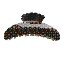 Hair Accessory - Large Dot Hair Jaw Claw Clips (STS03001)