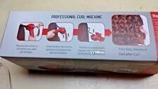 Steamer Curl Ceramic Professional Curling Machine Iron Red