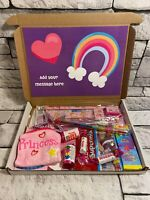 Children's personalised hamper gift box sweets toys birthday present - Unicorn
