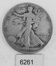 1936-S WALKING LIBERTY 50 CENT PIECE