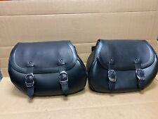 Harley Davidson Heritage Springer Leather Saddlebag Kit 90058-05B