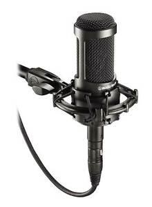 Audio Technica AT2035 Side Address Cardioid Condenser Studio Microphone/Mic