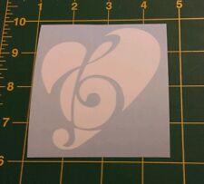 Vinyl Decal Sticker..Love Music..Car Truck Window Laptop
