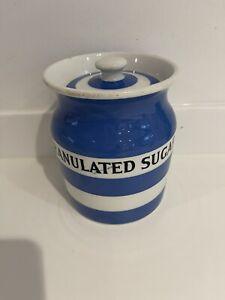 T G Green kitchen Cornishware early Granulated sugar 14cm Jar