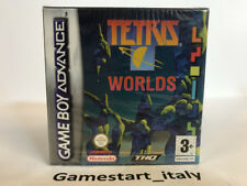 TETRIS WORLDS - NINTENDO GAME BOY ADVANCE GBA - NUOVO SIGILLATO NEW PAL VERSION