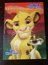 The Lion King Coloring Book_2012_Disney_Kids Coloring Book