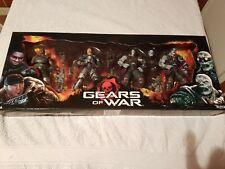 Gears of War Figure Box Set Marcus Augustus Locust Drone Sniper Neca New Xbox