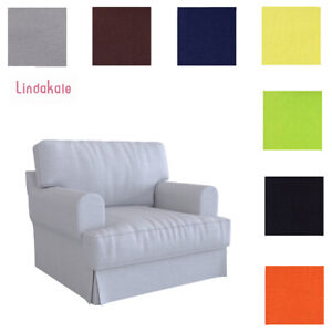 Custom Made Cover Fits IKEA Hovas Armchair, Replace Hovas Chair Cover