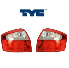 NEW Audi A4 Quattro S4 Pair Set of Left and Right Tail light Assembles TYC