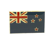 New Zealand Flag Enamel Pin Badge