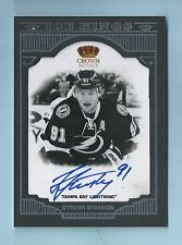 STEVEN STAMKOS 2011/12 CROWN ROYALE ICE KINGS AUTOGRAPH AUTO /99