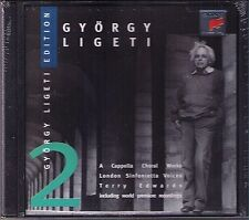 György Ligeti a cappella corale Works Night Morning inaktelki Terry Edwards CD