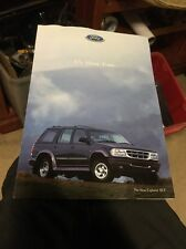 1996 Ford Australia Vehicle Range Sydney Motor Show Falcon Explorer Probe XR8
