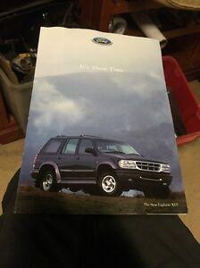 1996 Ford Australia Vehicle Range Sydney Motor Show Falcon Explorer Probe XR8