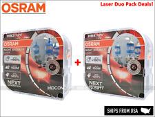 DUO PACK HB3(9005) / HB4(9006) OSRAM NIGHT BREAKER LASER Halogen 9005NL 9006NL