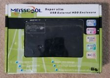 Masscool 2.5'' UE211 USB IDE Mirror Finish Drive Enclosure (BLACK) - NEW
