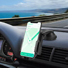 360° Cell Phone Car Mount Holder For Rotation Dashboard & Windshield One Button
