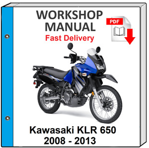 Kawasaki Klr650 Klr500 1987 2007 Service Manual Repair Manual Wiring Diagrams