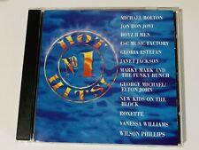 NO 1 HOT HITS CD 1992 COLUMBIA HOUSE BON JOVI ROXETTE NEW KIDS C+C FACTORY BOYZ