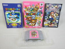 MARIO PARTY 2 Nintendo 64 Import Japan Boxed Game n6
