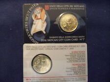 Vatican City coin card n°7 Giubileo della Misericordia MMXVI 50 centimes