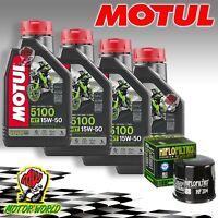 Inspection Set 4LT Motul 5100 15W50 + Filter Honda CBR 1000 RR Fireblade 2014