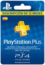 Sony PlayStation Plus 12-Meses Suscripción
