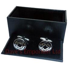 Celtic Knot Cufflinks - Gift Boxed - Ladies Unisex Celt Cuff Links