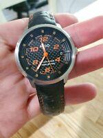 Mido Michel Jourdain Ocean Star Special Edition Leather Band Men's Watch