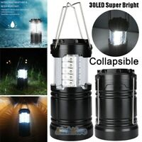 30 LED Battery Power Emergency Outage Disaster Light Compact Camping Lantern USA