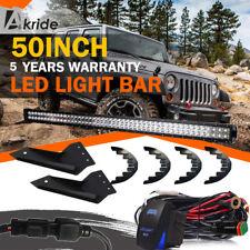 50'' Straight LED Light Bar 2007-2013 Chevrolet Chevy Silverado/GMC Sierra 1500