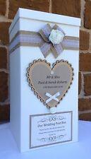 VINTAGE per matrimonio biglietto post box, BOMBONIERE, regali di nozze, pozzo dei desideri