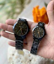 Michael Kors Slim Runway Couple Watch Two tone Black-tone