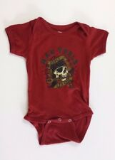 Mac Tool Baby One Piece T-Shirt Snap Button Bottom Built to Last Childs Skull Ou
