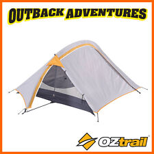 OZTRAIL BACKPACKER HIKING 2 MAN PERSON LIGHTWEIGHT SMALL DOME TENT NEW MODEL
