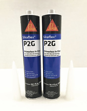 Auto Glass Sealant Windshield Urethane Glue Sika P2G Primerless Adhesive X 2