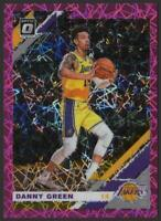 2019-20 Donruss Optic PINK Velocity #70 Danny GREEN 49/79 Los Angeles Lakers