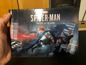 Marvel Spiderman Collector's Edition Artbook PS4