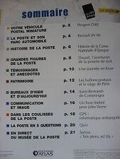 FASCICULE 27 VEHICULES POSTAUX PEUGEOT D4B LA POSTE PTT